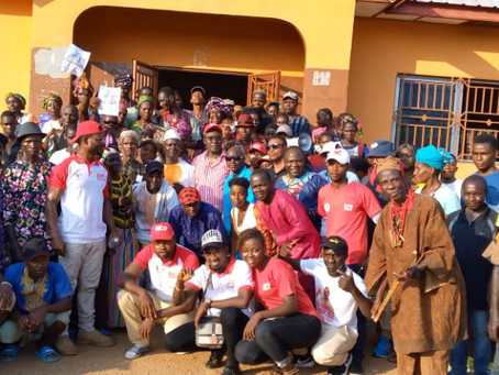 Dr. Richard Konteh Visits Bumban Community in the Briwa Chiefdom