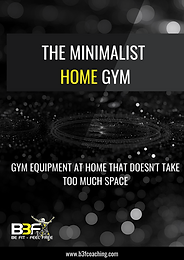The Minimalist Home Gym