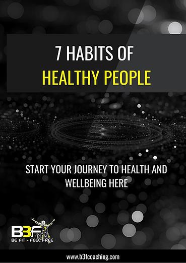 7 Habits of Healthy People