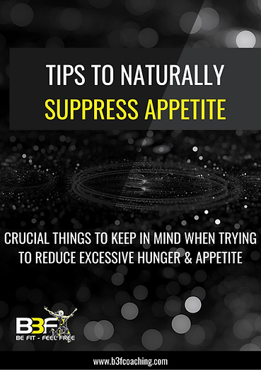 Tips to Naturally Suppress Appetite