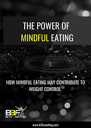 The Power of Mindful Eating