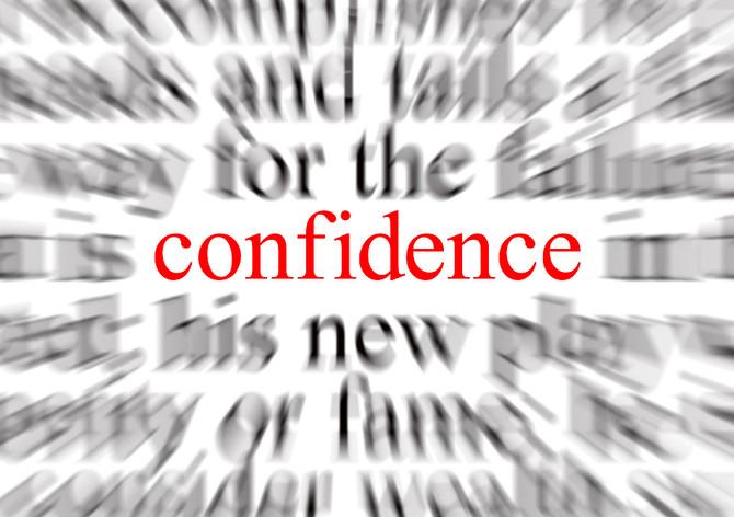 Confidence Anyone?