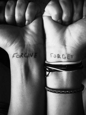 Forgiving vs. Forgetting