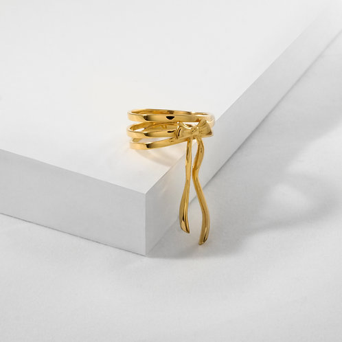 Bows & Ribbons | Gold | Ring