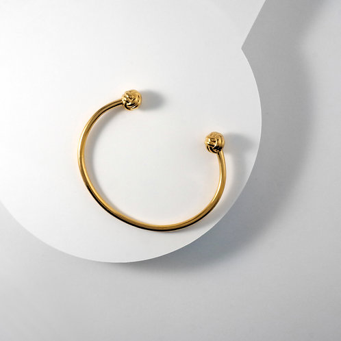 Monkey Paw Knot | Gold | Bangle