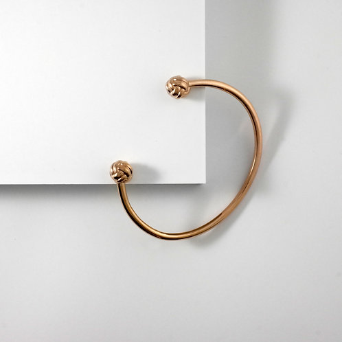 Monkey Paw Knot | Rose Gold | Bangle