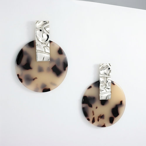 Dusty Mojave | Silver | Earrings