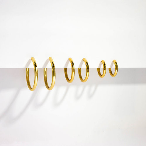 Classic Hoops | Gold | Earrings
