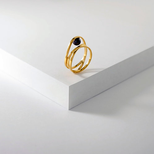 Curling Jewel | Gold | Ring
