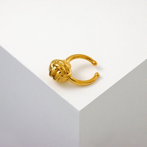 Monkey Paw Knot | Gold | Septum Ring