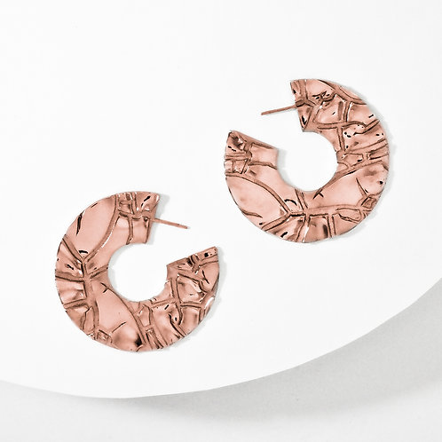 Parched | Rose Gold | Earrings