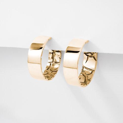 Hidden Desert | Gold | Earrings