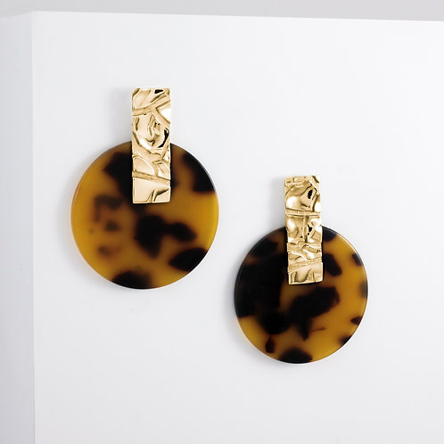 Dusty Gobi | Gold | Earrings
