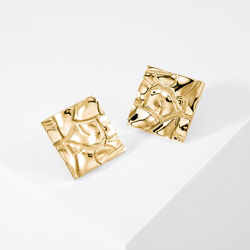 Cretto | Gold | Earrings