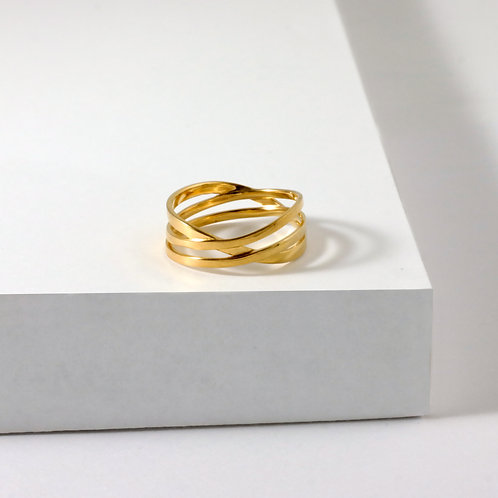 Coil | Gold | Ring