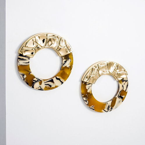 Parched Sahara | Gold | Earrings