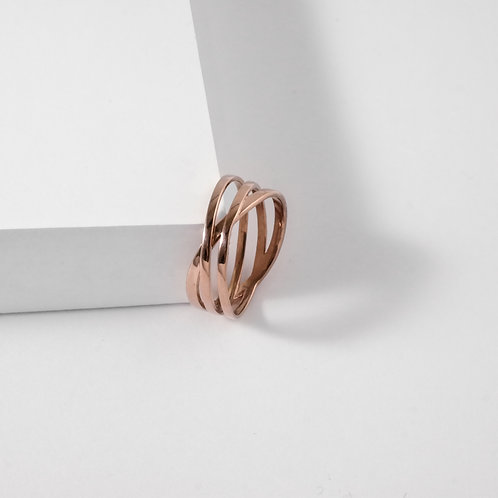 Coil | Rose Gold | Ring