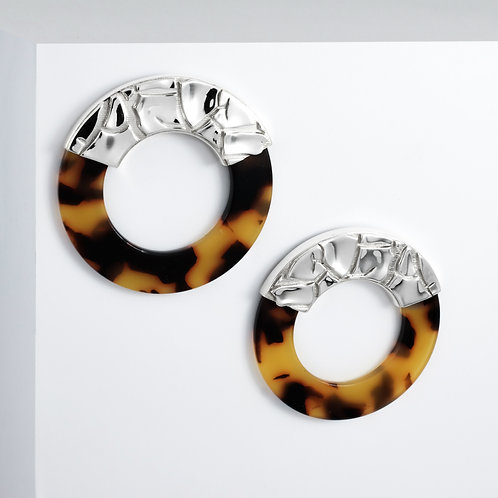 Parched Gobi | Silver | Earrings