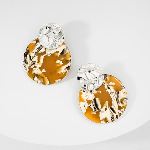 Torrid Sahara | Silver | Earrings
