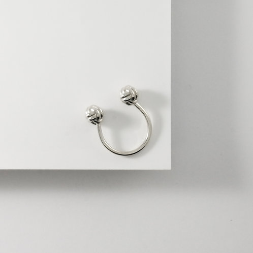Monkey Paw Knot | Silver | Ring