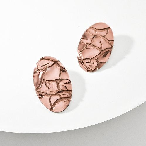 Barren | Rose Gold | Earrings