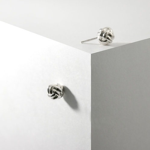 Monkey Paw Studs | Silver | Earrings