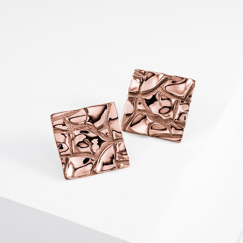 Cretto | Rose Gold | Earrings