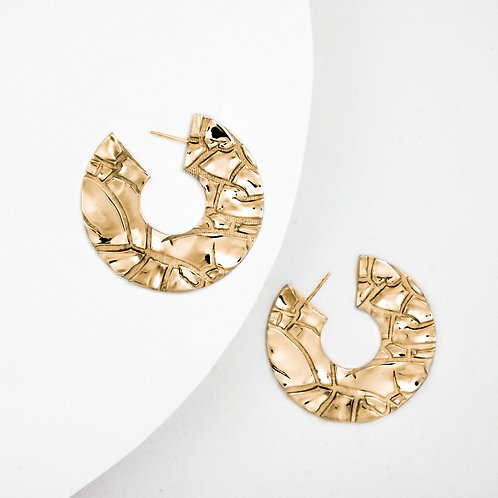 Parched | Gold | Earrings