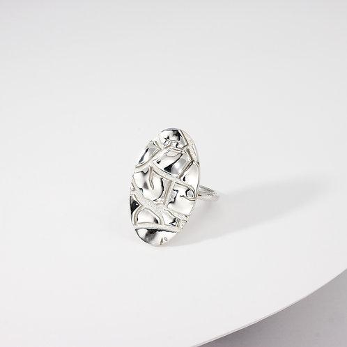 Barren | Silver | Ring