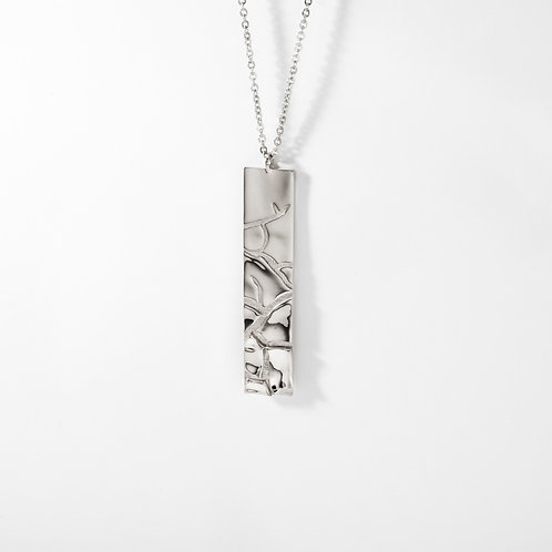 Dusty | Silver | Necklace