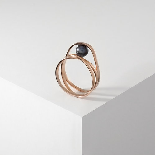 Curling Jewel | Rose Gold | Ring