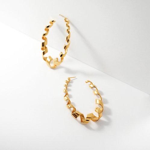 Loopty Loop | Gold | Earrings