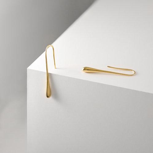 Droplet | Gold | Earrings