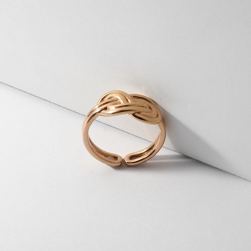 Figure 8 Knot | Rose Gold | Ring