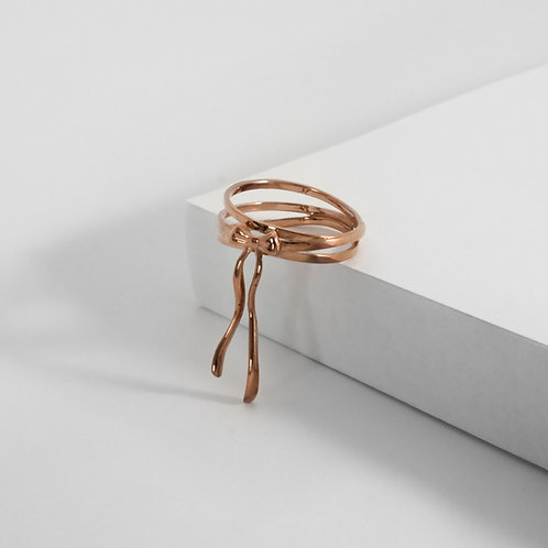 Bows & Ribbons | Rose Gold | Ring