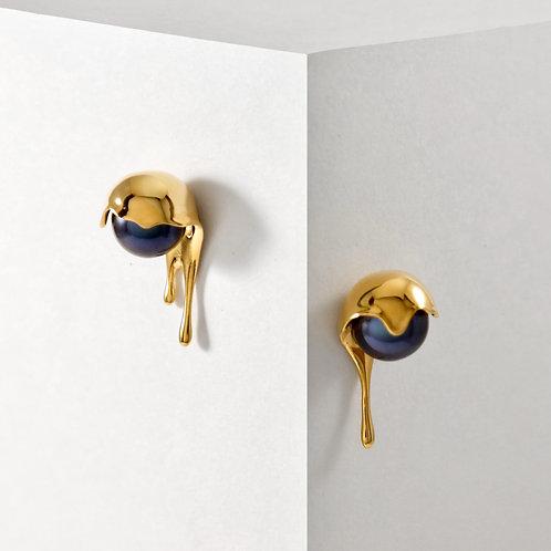 Melting | Gold | Earrings