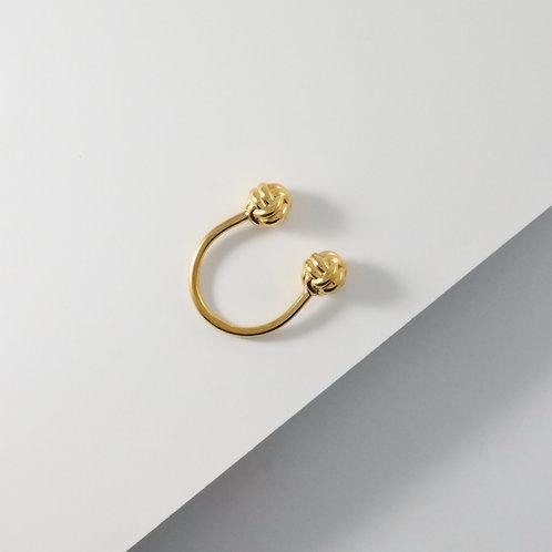Monkey Paw Knot | Gold | Ring