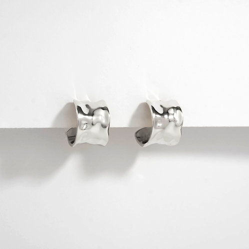 Ripples Studs | Silver | Earring