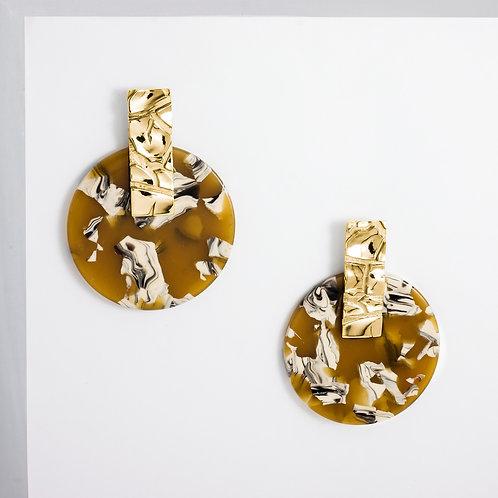 Dusty Sahara   Gold   Earrings