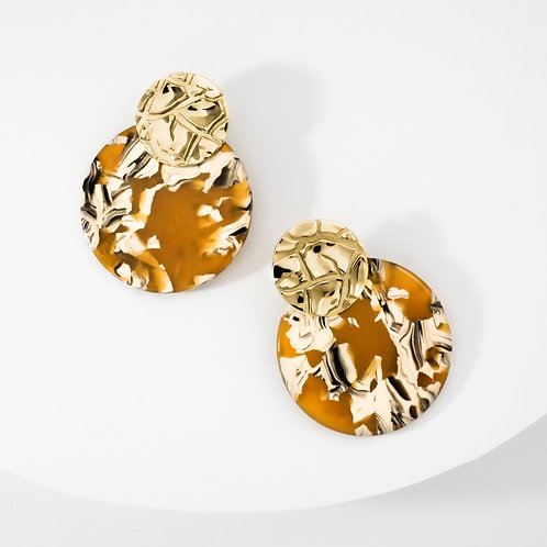 Torrid Sahara | Gold | Earrings