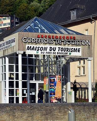 maison du tourisme et archéoscope godefroid de bouillon