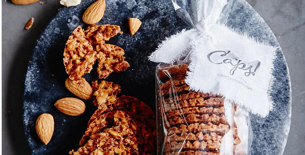 CAPS! Almond Brittles, 120g