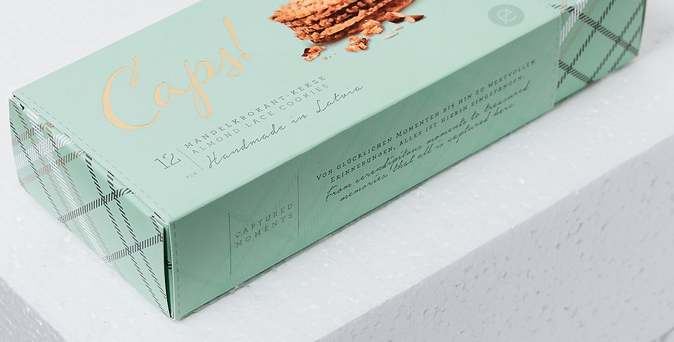 Almond Lace Brittles