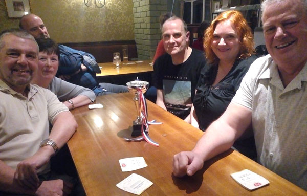 Club's second quiz night winners