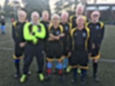 Hartshill over 70's National Finalists.