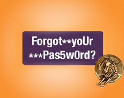 Forgot Your Password Campaign