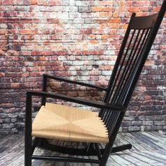 Wegner gyngestol med nyt sæde