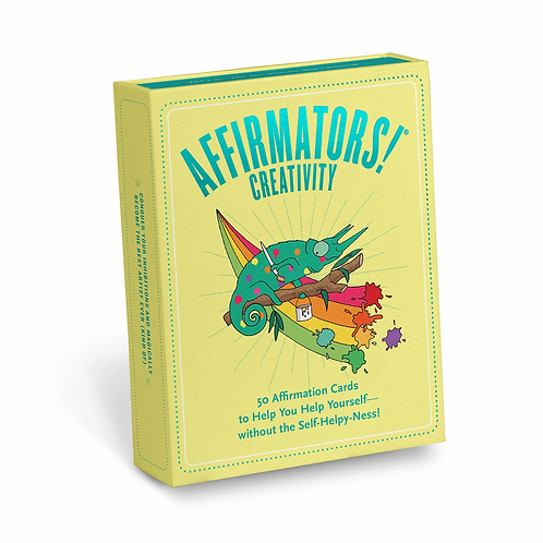 Affirmators!® Creativity: 50 Affirmation Cards Deck