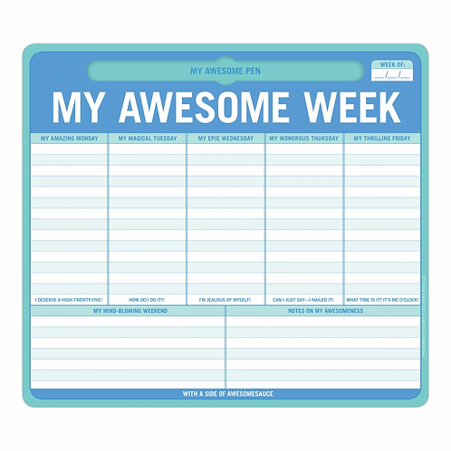 My Awesome Week Pen-to-Paper Mousepad