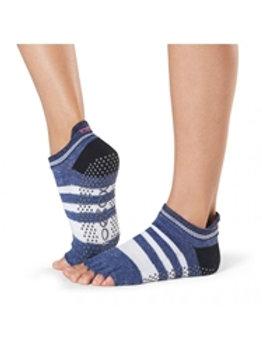 Toesox - Half Toe Low Rise Grip Sock (Iconic)
